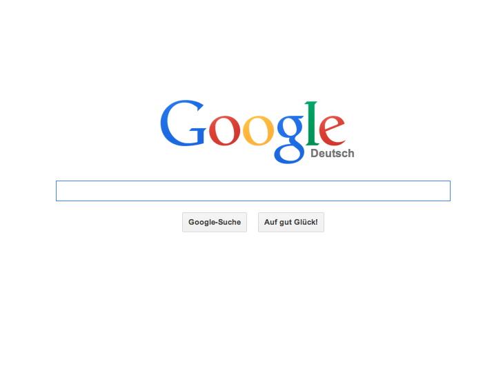 Die Suchmaschine Google